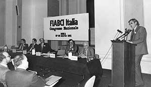 Foto storica di Roberto Furbatto in rassegna stampa