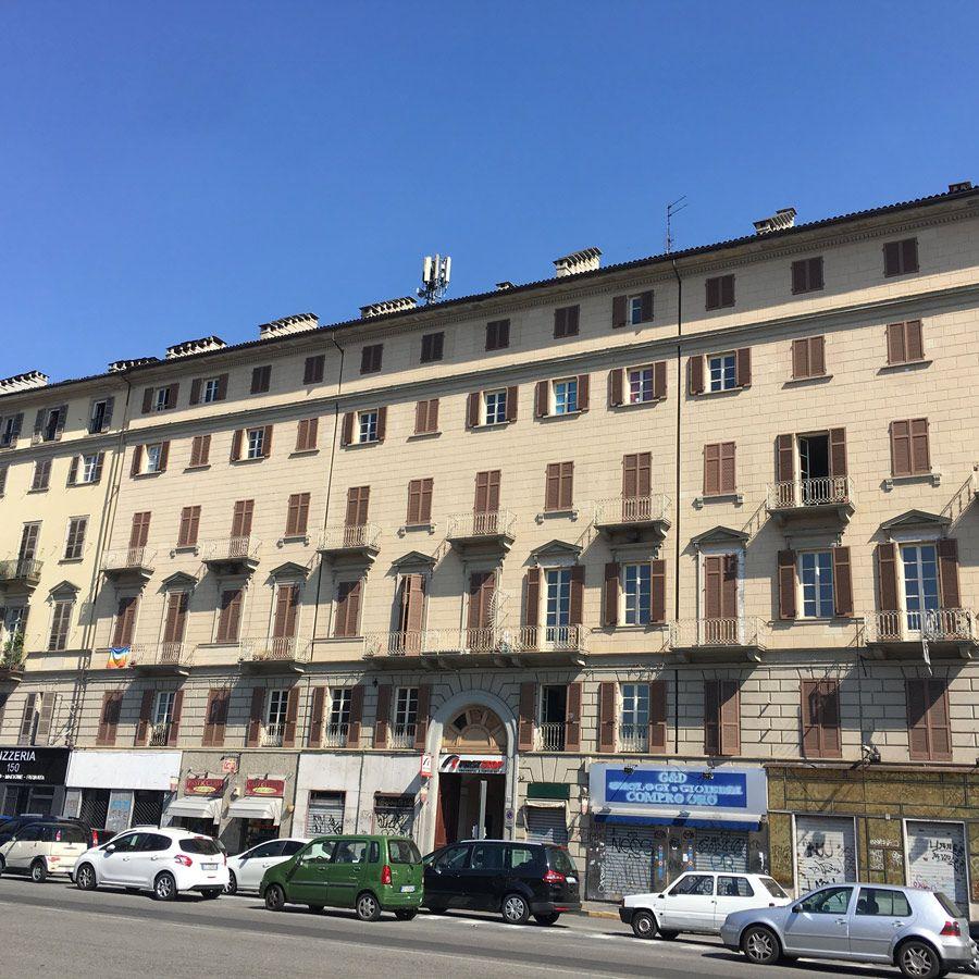 Torino - Via Nizza-Vendita in blocco intero stabile 6000 mq di ca. 70 unità immobiliari di cui 60% occupate